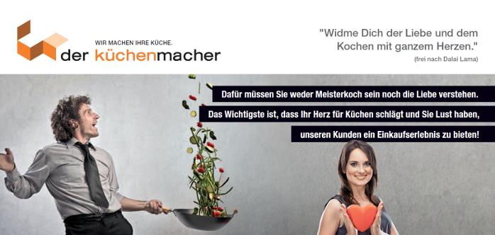 Vertriebsjob24 de Küchenverkäufer, Sachbearbeiter